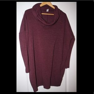 Maroon xl old navy tunic